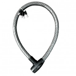 Cable candado flexible 4 llaves de seguridad (1m) MIKELS C-4612