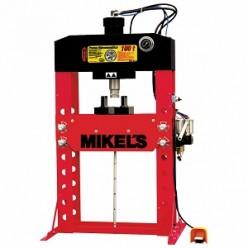 Prensa hidroneumática con pistón y manómetro 100 T MIKELS PHB-100