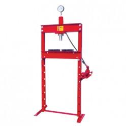 Prensa hidráulica con pistón y manómetro 15 T MIKELS PHB-15