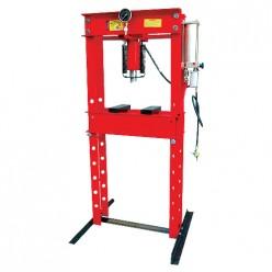 Prensa hidroneumática con pistón y manómetro 30 T MIKELS PHB-30
