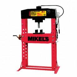 Prensa hidroneumática con pistón y manómetro 75 T MIKELS PHB-75