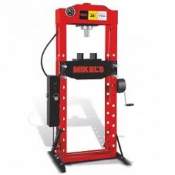 Prensa hidráulica con pistón y pedal 30 T MIKELS PHP-30