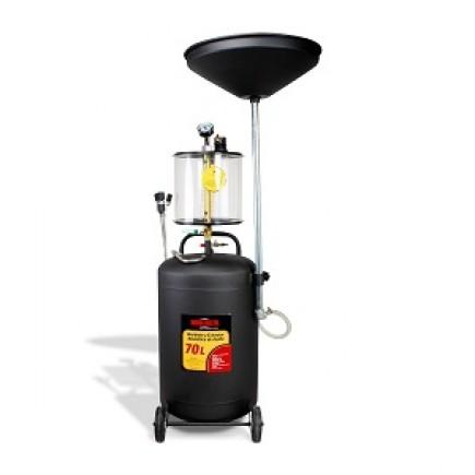 Recibidor Extractor de aceite neumático 70 lts MIKELS RENA-70