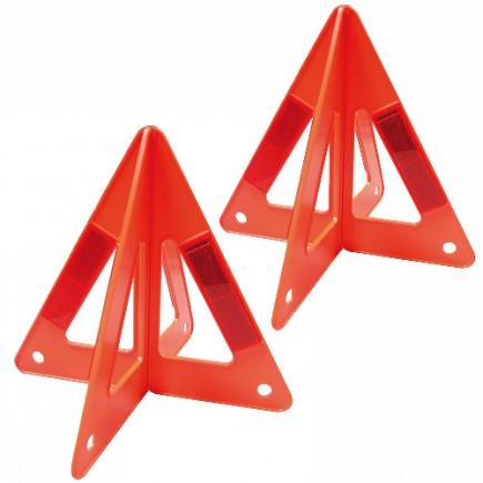 "Triángulos Reflejantes 10"" (1 par) MIKELS TR-10"